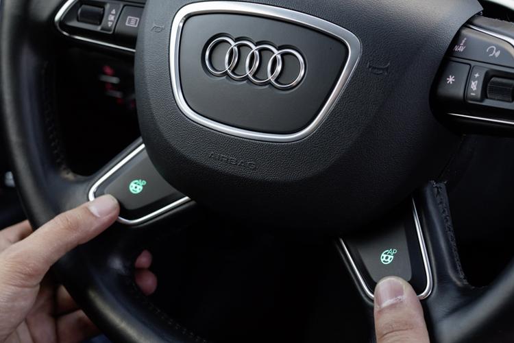 アウディの自動運転イメージ