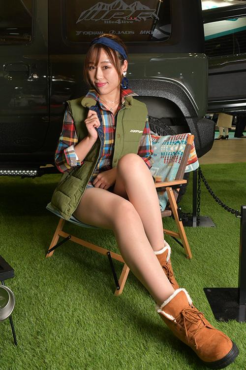 「東京オートサロン2020」で見つけた美女コンパニオン