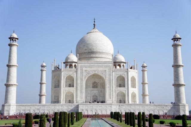 世界遺産でもあるインドのタージ・マハル