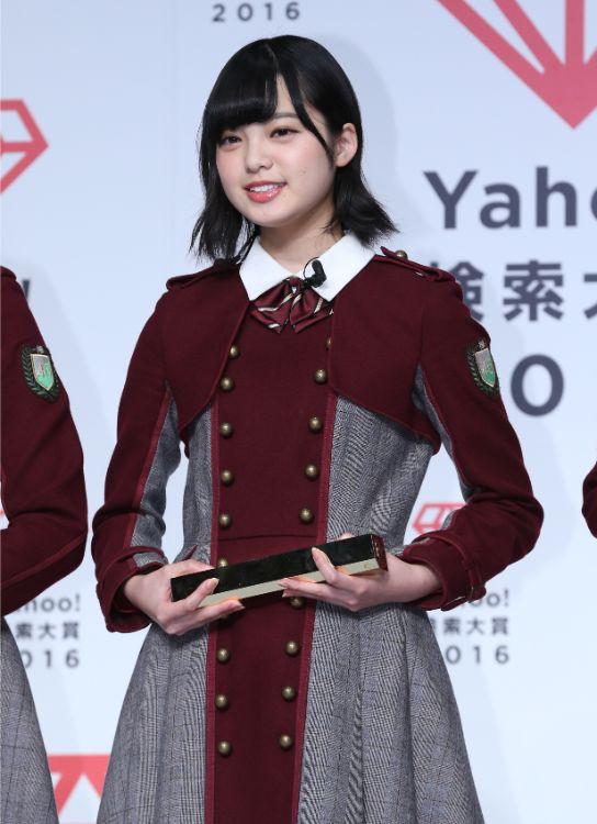 2016年、髪が肩近くまであったころの平手友梨奈
