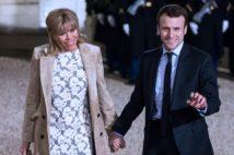 """フランスならばここまで""""炎上""""することは無かっただろうとプラドさん。実際、マクロン夫妻は「不倫略奪愛」だったが、それでも国民に支持され、大統領に(時事通信フォト)"""