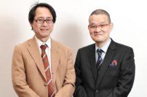 作家の志駕晃さんと映画監督の中田秀夫さんが対談
