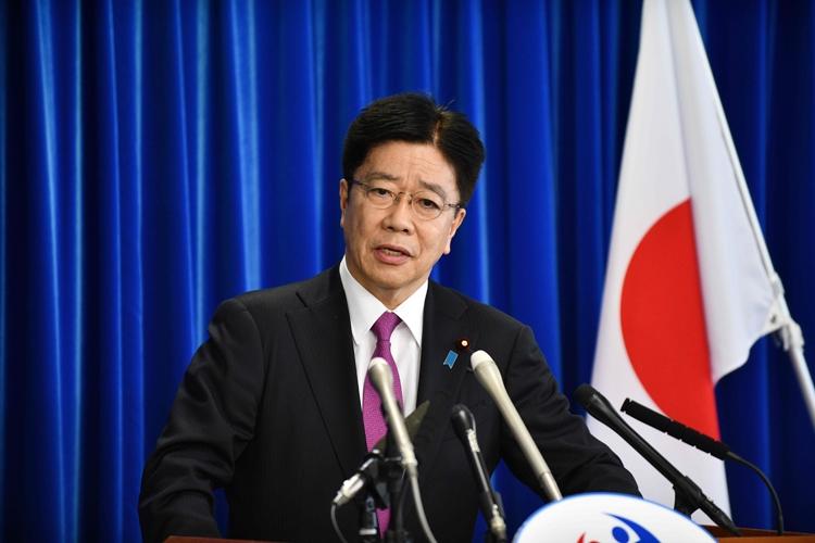 加藤厚生労働大臣(写真/AFP=時事)