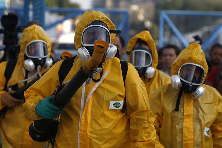 リオ五輪では「ジカ熱」が流行した(EPA=時事)