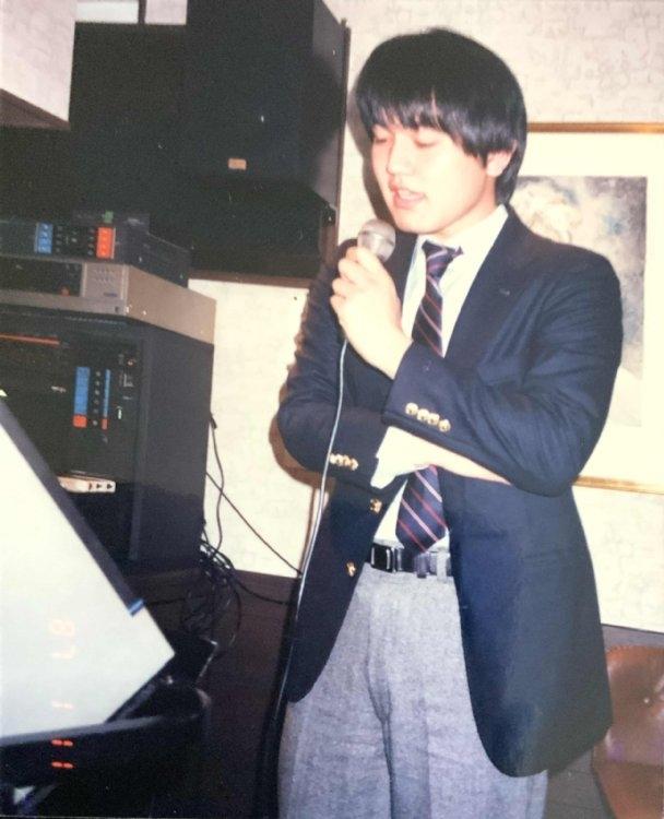 20歳当時の依田九段(写真提供/内藤由起子)