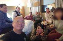 千葉県議 2500万円米国視察で問題になった男女部屋飲み写真