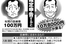 確定申告、医療費控除のポイント 自己負担100万円で戻ってきたのは?