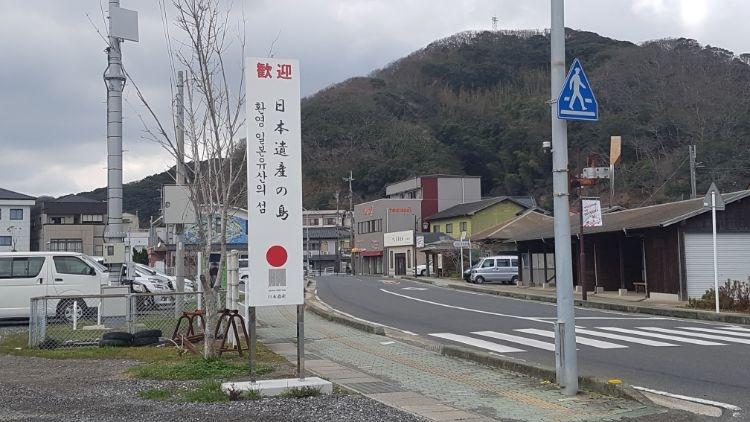 人気のない比田勝港国際ターミナル周辺(写真:藤原修平)