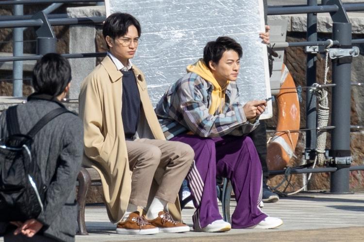 平野 紫 耀 と 中島 健 人