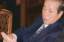 野中広務氏は「影の総理」と呼ばれた(時事通信フォト)