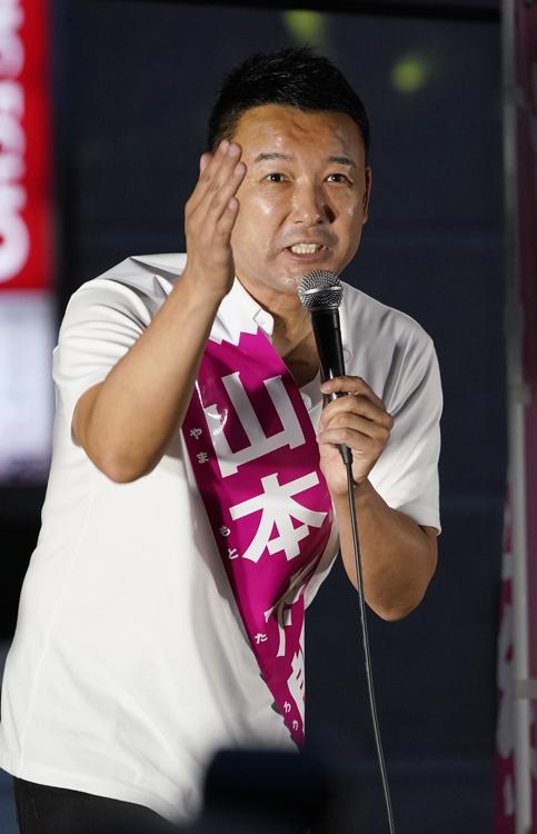 突然「東京8区」での出馬を発表(時事通信フォト)