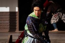 明智光秀(長谷川博己)。第6回では三好・松永の窮地を救う場面が描かれた(写真提供:NHK)