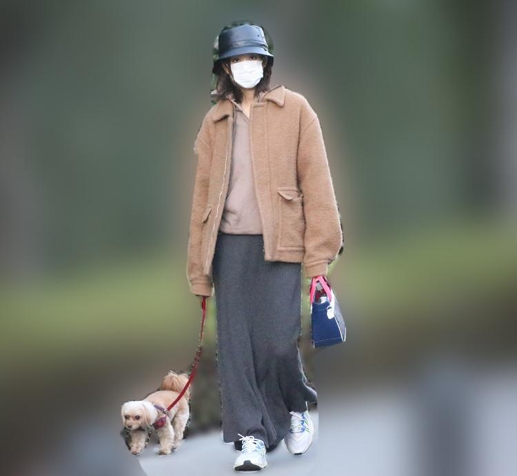 マスクはしててもオーラは女優