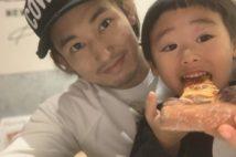 ピザを食べるよつ葉ちゃんをパシャッ!