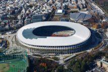 東京五輪の会場となる新国立競技場(写真/アフロ)