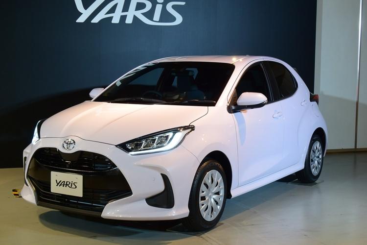 走りの性能を重視したトヨタ自動車の「ヤリス」