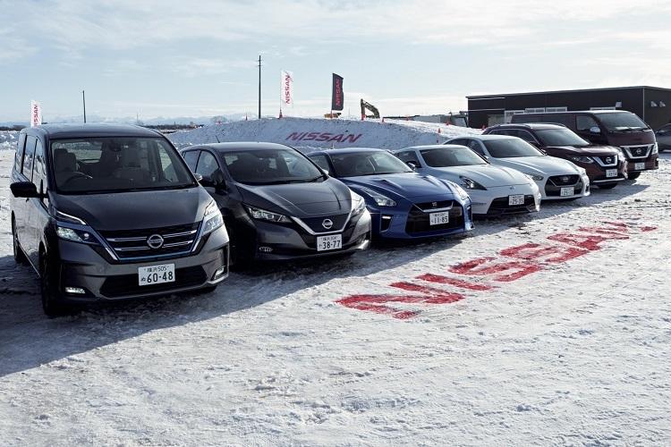 日産車「雪上試乗会」で走破性能を体感!