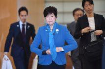 小池氏は「開催都市のトップ」のままでいられるか(AFP時事通信フォト)