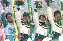 長野五輪では団体金メダルを獲得(時事通信フォト)