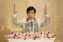大川氏の講演会は継続されている(共同通信社)