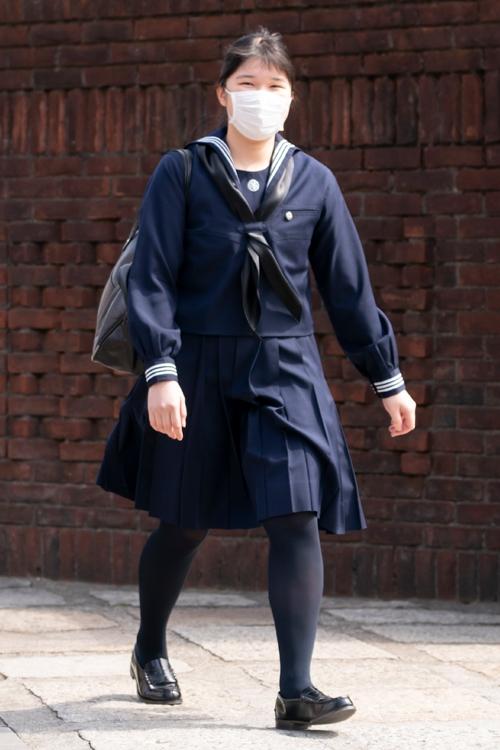 愛子さまも感染対策でしっかりマスクをご着用(撮影/JMPA)