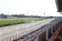 無観客で開催された中山競馬(2020年3月1日)