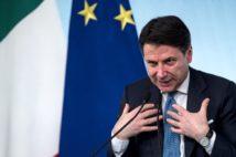 イタリアのコンテ首相(Avalon時事)