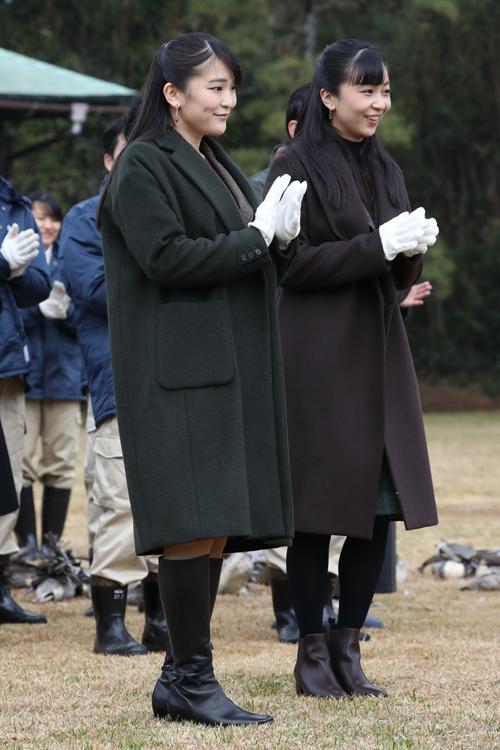 眞子さまの結婚の行方は(撮影/JMPA)