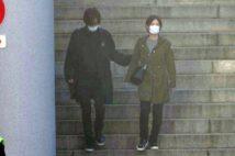 【写真10枚】DAIGOが妊娠中の北川景子の腰に手を添え気遣う