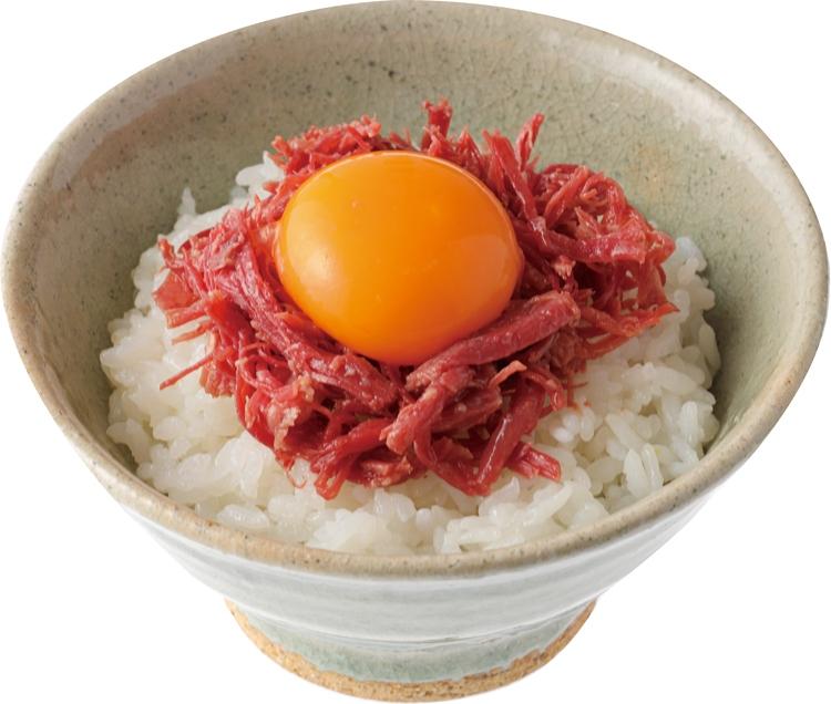 卵かけご飯との相性も抜群!前田典子おすすめの『小田牛のコンビーフ』