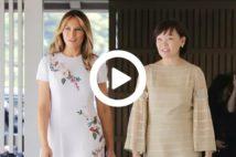【動画】安倍昭恵夫人、夫の貴族動画に「いいね!」でヒンシュク