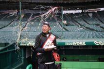 最年長の福留孝介は43歳に(阪神タイガース提供。時事通信フォト)
