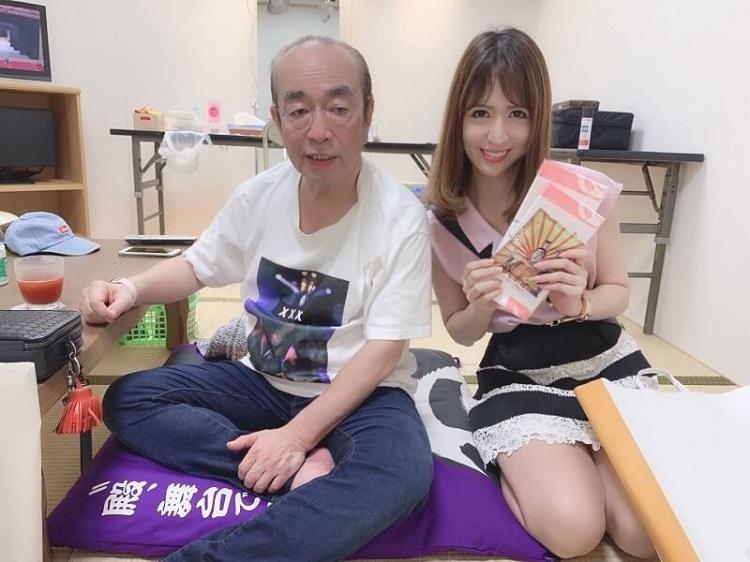 芸能界の後輩として、志村けんさんにはとても優しくしてもらったという