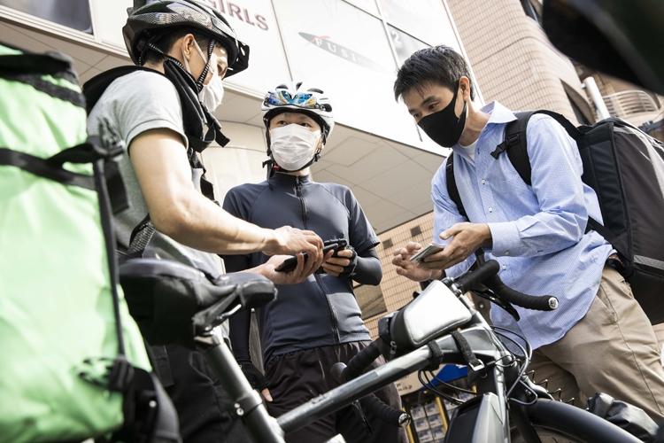 配達は単独行動だが、ドライバー同士で情報交換することも