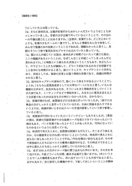 『スッキリ』の内容などを記録した文書