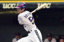 105試合出場で首位打者に輝いた2000年のイチロー(時事通信フォト)
