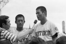 1981年夏、報徳学園で優勝(時事通信フォト)
