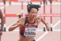 6年ぶりに陸上競技に復帰した寺田選手
