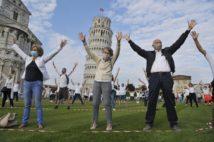 イタリアでは医療従事者を励ますため「フラッシュモブ」が行われることもしばしば(写真/Getty Images)