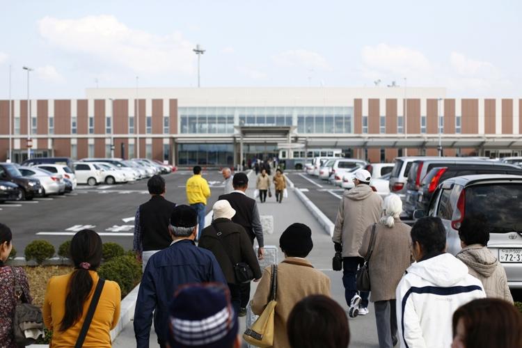 旅客実績もあり健闘している茨城空港だが、課題も多い(時事通信フォト)