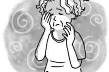 熱中症の前兆として、めまいや頭痛、微熱、足がつるなどの症状がある。