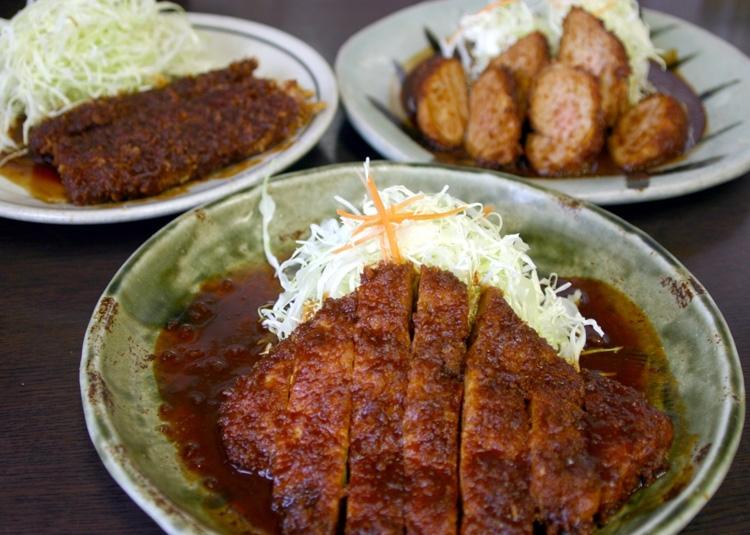 味噌カツは名古屋の名物(写真/共同通信社)