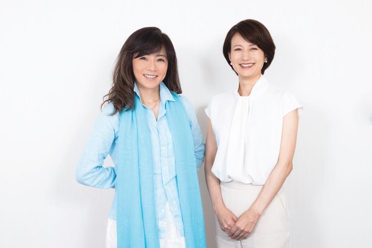 永井美奈子アナと馬場典子アナの先輩後輩対談が実現
