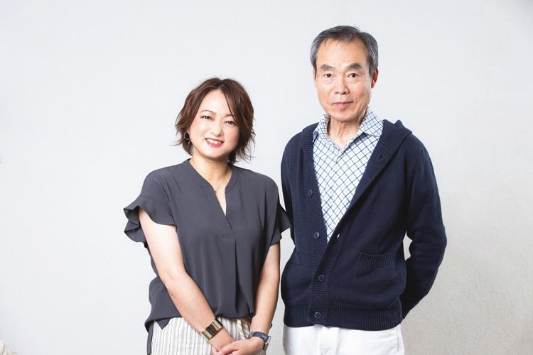 松永二三男アナと大神いずみアナが対談