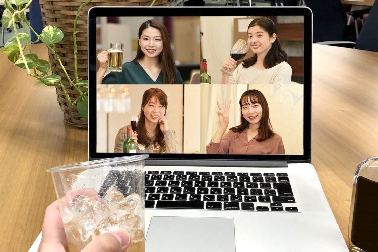 「新しい生活様式」で流行するオンライン飲み会