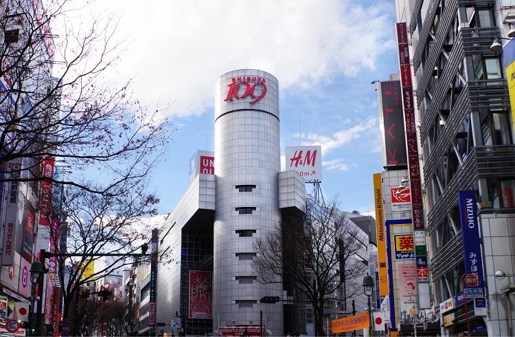 渋谷・道玄坂交差点にある渋谷109