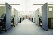個人の空間がしっかり確保されたオフィス(Getty Images)