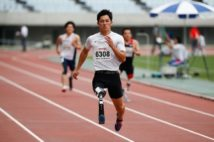 パラアスリートの小須田潤太選手(SportsPressJP/アフロ)
