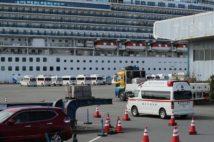乗員乗客の2割が感染(時事通信フォト)