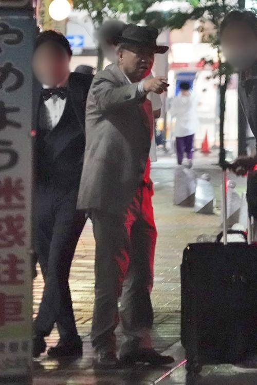 舞台後に打ち上げに向かう徳田さん